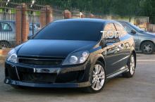 6349 Передний бампер Volt на Opel Astra H GTC