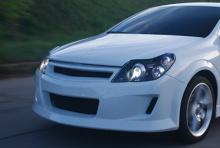 Тюнинг решетка радиатора - Обвес Вольт для Opel Astra H GTC