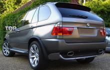 6352 Диффузор заднего бампера 4.8 IS ABS на BMW X5 E53