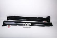 6354 Накладки на пороги Mugen ABS - Дорестайлинг на Honda Accord 7