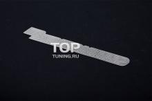 Тонкая металлическая эмблема наклейка - Модель Маздаспиид - Тюнинг Mazda. Размер 120 * 20 мм.