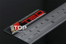 Самоклеящиеся шильдики - Модель ТРД - Тюнинг Тойота. Размер 60 * 14 мм.