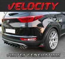 Аэродинамический обвес VELOCITY VORTEX GENERATOR - Универсальный тюнинг.