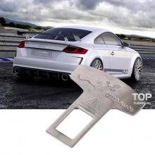 6413 Обманка ремней безопасности Quattro на Audi