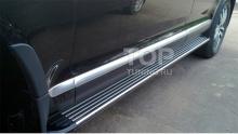 6424 Пороги ступени OEM Style на VW Touareg I