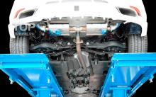 6431 Юбка заднего бампера Rowen на Mazda CX-5