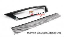 6437 Решетка радиатора Power DM на Renault Logan