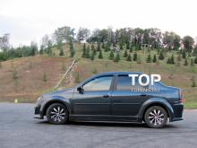 Аэродинамичесокй обвес - Модель Power DM - Тюнинг Рено Логан (дорестайлинг)