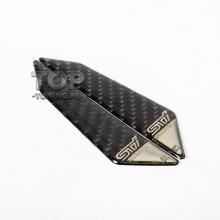 Универсальные накладки на кромку двери - Модель Carbon Style