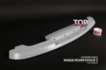 Спойлер крышки багажника - Модель Verge - Тюнинг Range Rover Vogue (3 Поколение, 2-ой рестайлинг 2010, 2012.)