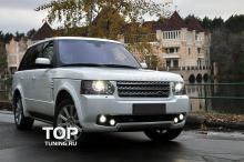 Протектор переднего бампера - Модель VERGE Classic - Тюнинг Range Rover Vogue (3 Поколение, 2-ой рестайлинг 2010, 2012.)