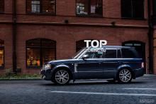 Юбка заднего бампера - Модель VERGE Classic - Тюнинг Range Rover Vogue (3 Поколение, 2-ой рестайлинг 2010, 2012.)