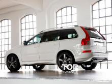 6476 Накладки на пороги X-CAR Sportiv на Volvo XC90 1