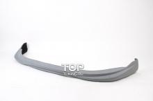 6484 Юбка переднего бампера GT на Kia Rio 3