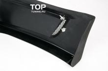 Накладка на задний бампер - Модель Sport Line - Тюнинг Киа Рио 3.