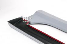 Накладка пороги - Модель GT - Тюнинг Киа Рио 3 (рестайлинг, дорестайлинг).