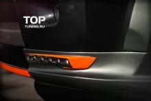 Накладка на передний бампер - Модель VERGE - Тюнинг Range Rover Sport (1 Поколение, 1-ый рестайлинг 2010, 2013.)