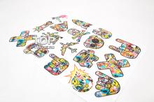 Набор виниловых наклеек в стиле JDM Sticker Bombing.
