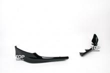 6519 Клыки на передний бампер R-Line на Honda Accord 8