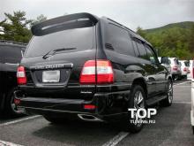 Спойлер на пятую дверь с дополнительным стоп сигналом Lite - Тюнинг Тойота Ленд Крузер 100