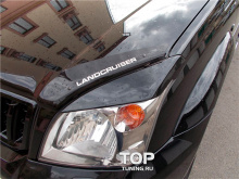 6534 Реснички TRD на Toyota Land Cruiser Prado 120