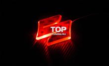 Светодиодная вставка под эмблему Suzuki- RED LED (90мм x 90мм)