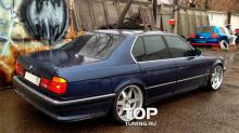6546 Накладка на задний бампер Zender на BMW 7 E32