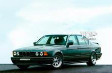 6548 Накладки на пороги Zender на BMW 7 E32