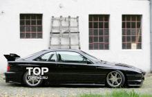 6554 Накладки на пороги Seidl на BMW 8 E31