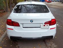 6561 Задний бампер M-Technic на BMW 5 F10