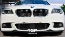 6562 Элерон на передний бампер M-Technic на BMW 5 F10