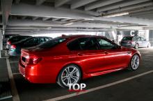 6566 Пороги M5 на BMW 5 F10