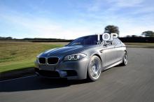 6566 Накладки на пороги M5 на BMW 5 F10