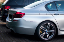 6567 Задний бампер M5 на BMW 5 F10