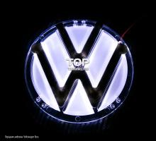 6573 Эмблема со светодиодной подсветкой LED на VW