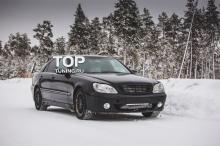 Передний бампер - Обвес Lorinser - Тюнинг Мерседес W220 (Дорестайлинг)