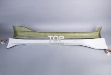 658 Пороги - Обвес Bomex на Toyota Levin - Trueno AE111