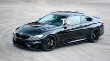 6582 Накладки на пороги M3 Style на BMW 3 F30