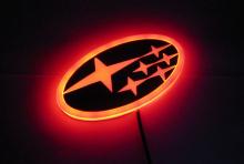 Светодиодная вставка под эмблему для автомобилей Subaru