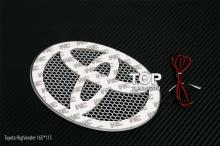 Светодиодная вставка под эмблему Toyota