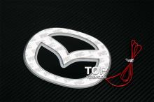 6588 Эмблема со светодиодной подсветкой LED на Mazda