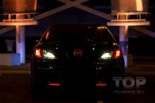 6588 Светодиодная вставка под эмблему LED на Mazda