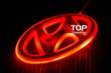 Светодиодная вставка под эмблему для автомобилей Mazda