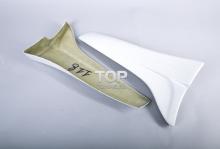 Накладки на задний бампер - обвес для Toyota Levin / Trueno - кузов AE 111 от студии Bomex (США/Япония).