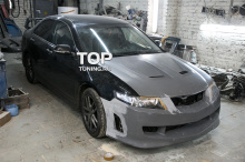 6592 Капот с жабрами Mugen Style на Honda Accord 7