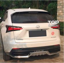 Юбка на задний бампер - Обвес TECH Design Imperator - Тюнинг Lexus NX 200\300
