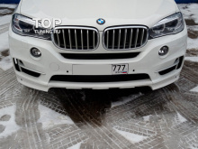 6602 Юбка на передний бампер Excellence Experience на BMW X5 F15