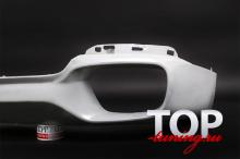 Юбка на задний бампер - Обвес Excellence Experience - Тюнинг БМВ Х5 Ф15