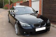 6610 Передний бампер M-Technic на BMW 5 E60, E61, M5