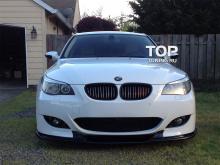 6619 Элерон на передний бампер M-Technic на BMW 5 E60, E61, M5